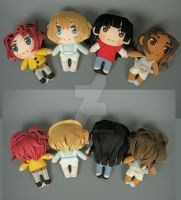 Custom UFO Catcher Style Humans by WhittyKitty