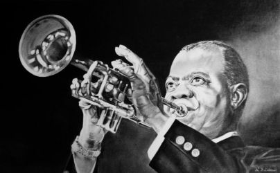 Louis Armstrong by Nathalief87