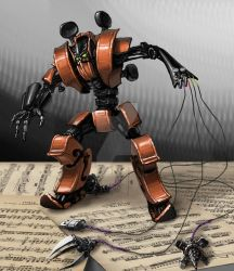 Violin Transformer by LuisAlonso81