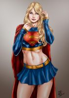 Supergirl by Deilson by tony058