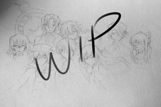 Pandora hearts WIP by CoolLIKEumee