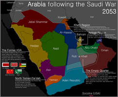 Map of Arabia by Martin23230
