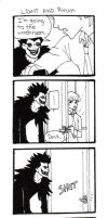 Light and Ryuk by superdonut