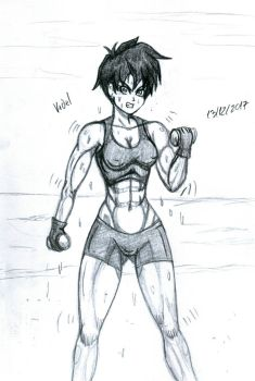 Videl Time To Train by charly21