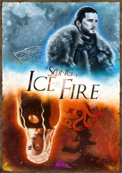 A Song of Ice and Fire by piratebutl23