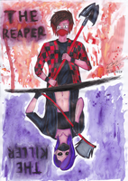 The Reaper And The Killer by Odnyrin