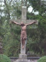 Jesus on the Cross by FDQ