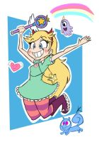 Star Butterfly by KaNaRia92