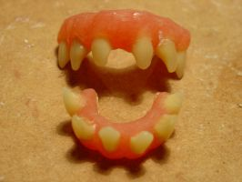 Acrylic Stop Motion Monster Teeth. by JonnyGore