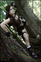 Lara Croft...Underworld by illyne