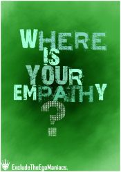 wHERE is YOUr emPATHy by error6
