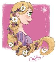 Rapunzel by poipoi39