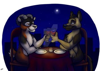 Rooftop Dinner by mahrkale