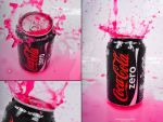 Coca Cola ZERO Pink version 1 by The-proffesional