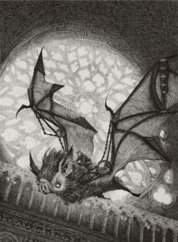 The Bat Rider by AudreyBenjaminsen
