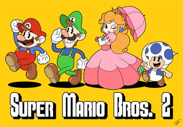 Super Mario Bros. 2 by Zieghost