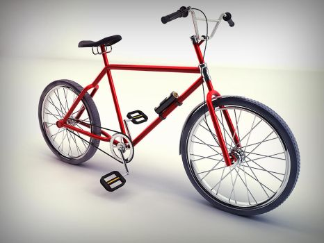 Bike - Studio Render by rptdelosreyes