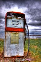 Antique Gas Pump HDR by Witch-Dr-Tim