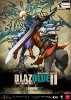 Blazblue ad poster by 69goatscape