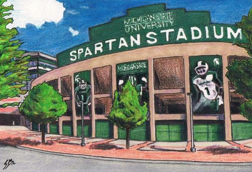 Spartan Stadium by Mason44