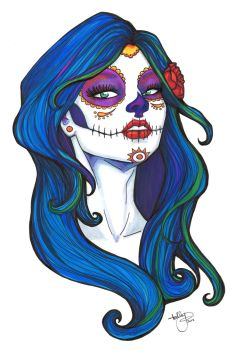 Day of the Dead Color 2 by badash13