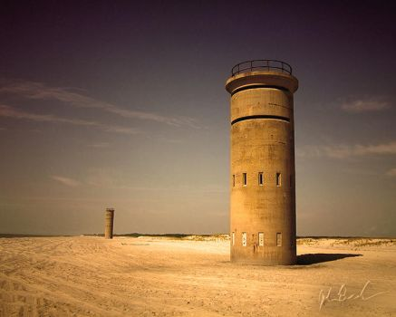 Sentinels of Cape Henlopen by barefootphotography