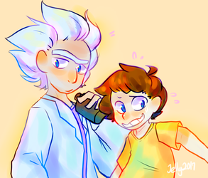 Rick And Morty by SparklyPies
