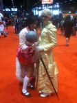 Me and Popstar Ahri LOL C2E2 2014 by MagicalCrystalWings