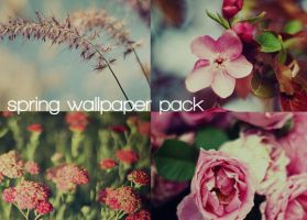 Spring Wallpaper Pack by solefield