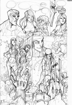 uncanny force page 2 by Graficohouse
