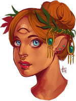 Theodosia Bust by Alluvial