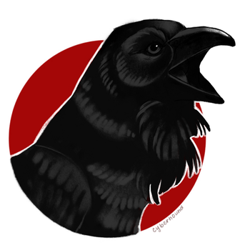 Raven Cover Up Design by cyber--hound