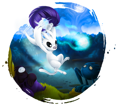 Ori and the Blind Forest by Kegawa