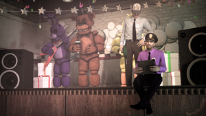 [SFM FNAF] Good old years by DoctorRed2000