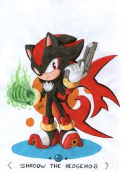 Shadow The Hedgehog by BoreasTH