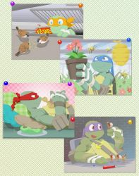 TMNT with Animals by FREAKfreak