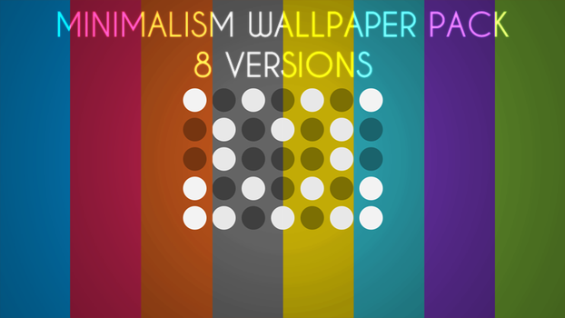 Minimal Wallpaper Pack by Mo0reDesign