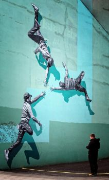 Mural 3, Reykjavik: I Pray For Air In The Water by Coigach
