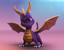 Old Video Games - Spyro The dragon by Sanpondera