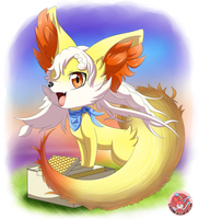 Fenney, The Sweet Fennekin Child [REDUX] by Stacona