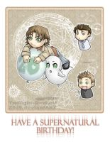 SPN: A Supernatural Birthday by Twilight-Deviant