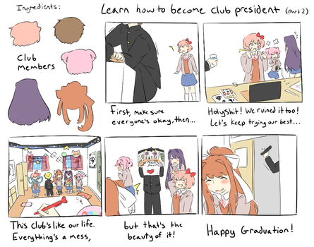 How to become club president 2 by Kechuppika