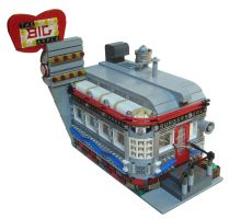 LEGO 'Big Apple' Diner by Mister-oo7