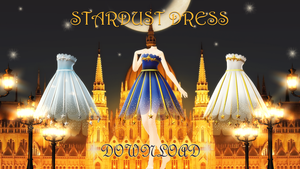 Stardust dress DOWNLOAD DL by HoshichoM