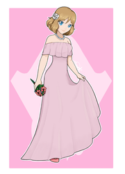 [COLLAB] Bridesmaid Serena by Indie-Calls