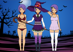 Kaily the Witch (RPG) by TF-SquareSting