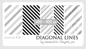 Diagonal lines by Sanami276