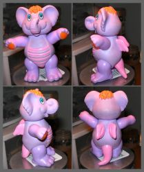 Wuzzle figure - Eleroo by TheWuzzles
