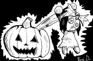 Inktober 2016 Day 27: Carving by Fragraham