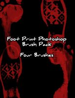 Footprints Photoshop Brushes by Zeds-Stock